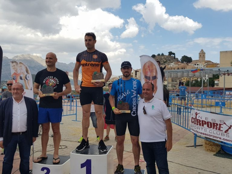 podium masculino starter medieval xtreme race polop
